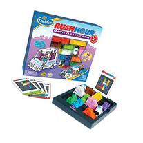 ThinkFun Rush Hour Junior Traffic Jam Logic Game and STEM Toy for Boys and Girls Age 5 and Up - Junior Version of the International Bestseller Rush