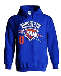 "Russell Westbrook Oklahoma City Thunder ""MVP"" Hooded"