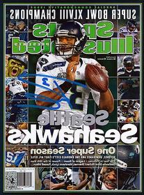 Russell Wilson Signed Sports Illustrated Magazine Seattle