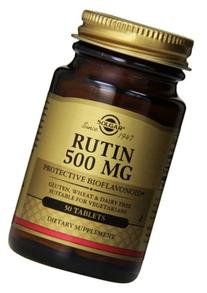 Solgar Rutin Bioflavonoids Tablets, 500 mg, 50 Count
