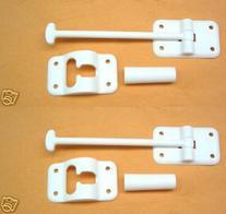 NU-SET RV010 White RV Door Holder