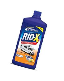 RID-X RV Toilet Treatment Liquid, 8 Treatments, 24oz