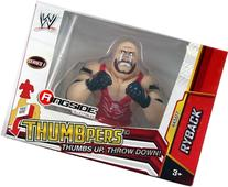 RYBACK - WWE THUMBPERS SERIES 1 WICKED COOL TOYS WWE TOY