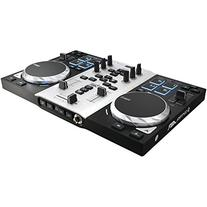 """Hercules DJControl AIR S series, USB DJ Controller with 8 Progressive Pads and """"AIR"""" control with Audio Outputs for use with your headphones and"""