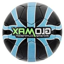 Franklin Glomax Soccer Ball, Size 4, Red/Orange, Orange/Blue