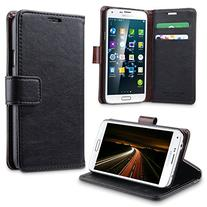 Galaxy S5 Case, ULAK Premium Synthetic PU Leather Wallet