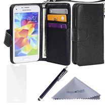 S5 Mini Case, Wisdompro Premium PU Leather Protective  Case