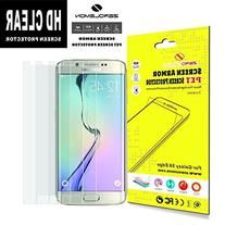 S6 Edge Screen Protector, ZeroLemon 3-Pack Screen Protector