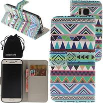 DRUnKQUEEn S7 Case, Galaxy S7 Case, Wallet Purse Type