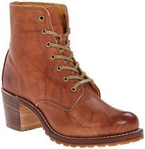 FRYE Women's Sabrina 6G Lace-Up Boot, Saddle Dakota Leather