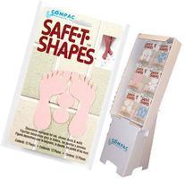Compac Safe-T-Shapes Bath Appliques Floor Display
