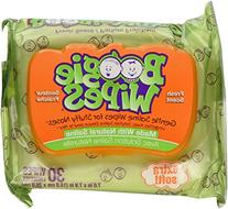 Boogie Wipes Saline Wipes, Gentle, for Stuffy Noses, Fresh