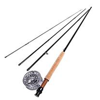 Sougayilang Saltwater Freshwater Fly Fishing Rod with Reel