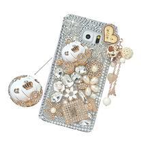 Spritech Samsung Galaxy S7 Edge Clear Phone Case,Silver
