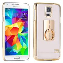 Samsung Galaxy S6 Ring Stand Case-Aurora® Soft Slim TPU