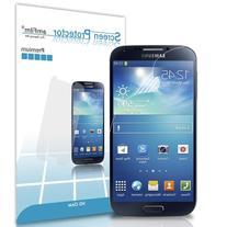 Galaxy S4 Screen Protector, amFilm® Premium HD Clear