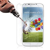 Galaxy S4 Screen Protector, Poweradd Bubble Free, 9H