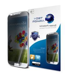 Galaxy S4 Privacy Screen Protector, Tech Armor 4Way 360
