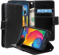 Samsung Galaxy S5 SPORT Case - E LV Deluxe Classic PU