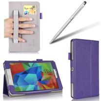 i-BLASON Samsung Galaxy Tab 4 8.0 Case - Leather Book  With