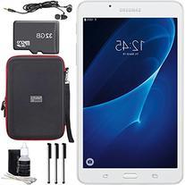 """Samsung Galaxy Tab A Lite 7.0"""" 8GB Tablet PC  White Bundle"""