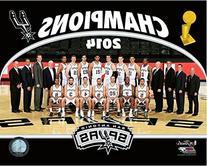 San Antonio Spurs 2014 NBA Championship Formal Team Photo