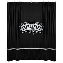 San Antonio Spurs Jersey Material Shower Curtain