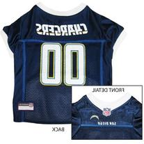 San Diego Chargers Dog Jersey - White Trim