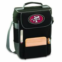 NFL San Francisco 49ers Duet Insulated 2-Bottle Wine and