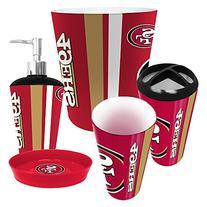 San Francisco 49ers 5 Piece Bathroom Set