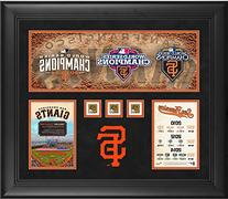 San Francisco Giants Framed Three World Series Titles in