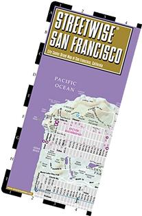 Streetwise San Francisco Map - Laminated City Center Street