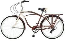 Schwinn Men's Sanctuary 7-Speed Cruiser Bicycle , Cream/
