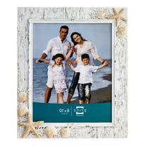 Prinz Sand Piper Resin Frame in Natural White with Seashells