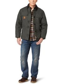 Carhartt Sandstone Traditional Arctic Quilt-Lined Coat for