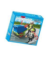 Playmobil Sanitation Team Set-MULTI-One Size