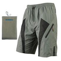 Santic Mens Mountain Loose-fit Biking Shorts Padded Coolmax