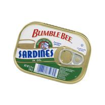 Bumble Bee Sardines in Oil, 3.75 OZ