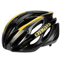 Giro Saros Road Helmet - Nashbar Exclusive - BLACK/YELLOW,