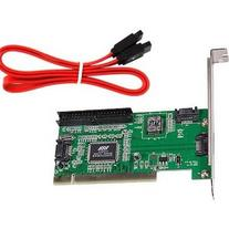 TOOGOO 4 Port SATA PCI Expansion Card &IDE VIA VT6421a