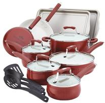 Paula Deen® Savannah Collection 17-pc. Red Aluminum