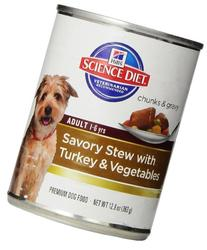 Adult Savory Stew with Turkey and Vegetables Wet Dog Food
