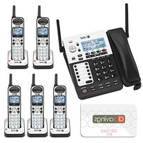 AT&T SB67118 / SB67138 4-Line Corded-Cordless Phone System w
