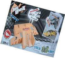 SBEGO Skatepark Suit with Exclusive Board & Rail for