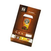Starbucks SBK11008131 Colombian VIA Ready Instant Single Serving Brew