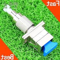 SC Female to Fc Male Optical Fiber Adapter Simplex Fiber