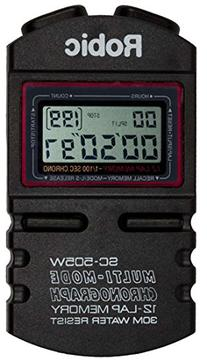 Robic SC-505W Timer, Black