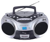 Supersonic SC-709 Portable MP3/CD Player with Cassette