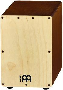 Meinl Percussion SCAJ1LB-NT Birch Wood Mini Snare Cajon,