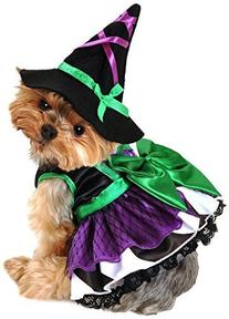 Anit Accessories 16-Inch Scary Witch Dog Costume, Medium